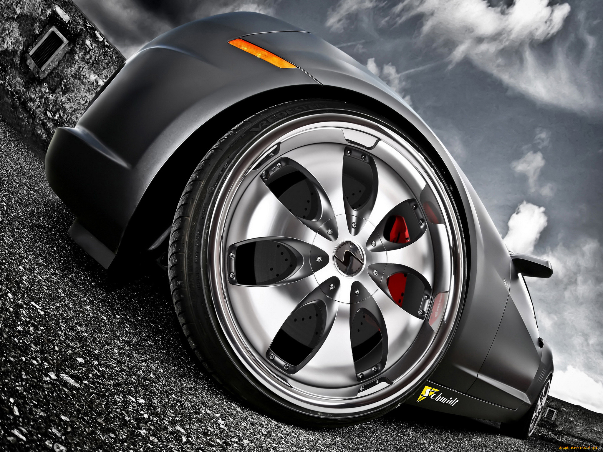 попал картинки машины крутые колеса качество